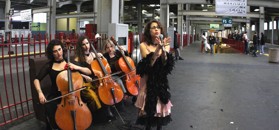 3 Cello ChiXtet at Transbay terminal